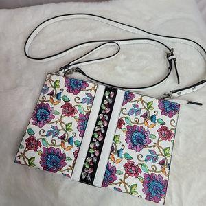 Nanette Lepore  floral large crossbody handbag